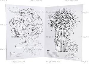 Книжка-раскраска «Моя Украина», Ц495007У, фото