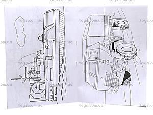 Книжка-раскраска «Военная техника», 110082, фото