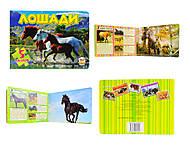 Книжка с пазлами «Лошади», Талант, фото