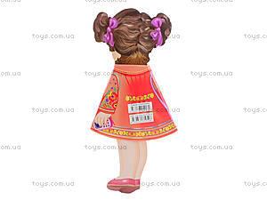 Книжка-игрушка «Кукла Анастасия», 12 страниц, Талант, детские игрушки
