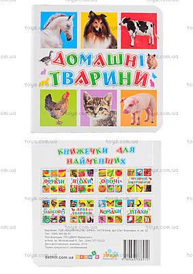 Книжки для самых маленьких «Домашние животные», КН202