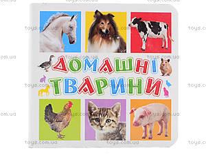 Книжки для самых маленьких «Домашние животные», КН202, цена