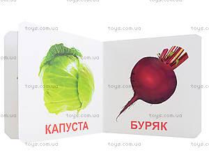 Книжки для самых маленьких «Овощи», КН205, цена