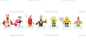 Колекционная фигурка «Губка Боб» Mega Bloks, CNJ86, игрушки