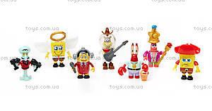 Колекционная фигурка «Губка Боб» Mega Bloks, CNJ86, детские игрушки