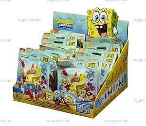Колекционная фигурка «Губка Боб» Mega Bloks, CNJ86, магазин игрушек