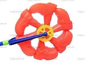 Колесо-каталка с палочкой, L1801-5, игрушки