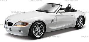 Коллекционная машина BMW Z4, 18-22002