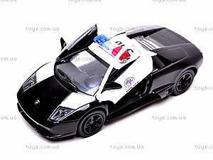Коллекционная машинка «Lamborghini Murcielago», KT5317WP, игрушки