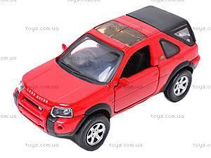 Коллекционная машинка Land Rover Freelander, 44783A, фото
