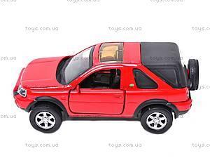 Коллекционная машинка Land Rover Freelander, 44783A, отзывы