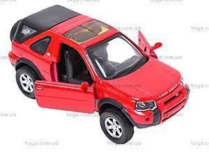 Коллекционная машинка Land Rover Freelander, 44783A