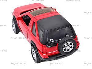 Коллекционная машинка Land Rover Freelander, 44783A, цена