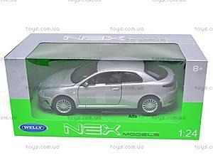 Коллекционная модель Alfa Romeo GT, 22454W, игрушки