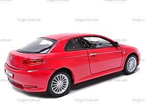 Коллекционная модель Alfa Romeo GT, 22454W, детские игрушки