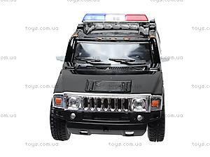 Коллекционная модель авто Hummer H2 Police, KT5097WP, купить