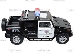 Коллекционная модель авто Hummer H2 Police, KT5097WP, отзывы
