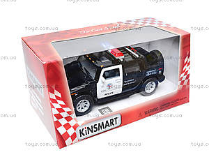 Коллекционная модель авто Hummer H2 Police, KT5097WP