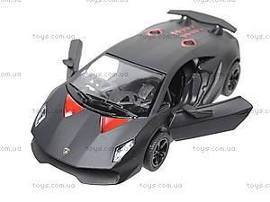 Коллекционная модель авто Lamborghini Sesto Elemento, KT5359W, магазин игрушек