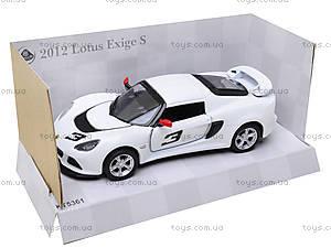 Коллекционная модель авто Lotus Exige S, KT5361W, іграшки