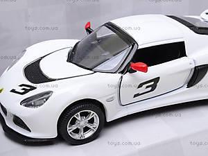 Коллекционная модель авто Lotus Exige S, KT5361W, детский