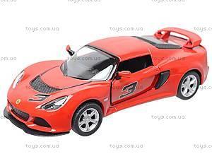 Коллекционная модель авто Lotus Exige S, KT5361W, цена