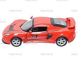 Коллекционная модель авто Lotus Exige S, KT5361W, магазин игрушек