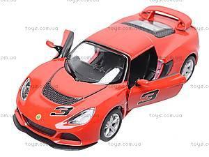 Коллекционная модель авто Lotus Exige S, KT5361W, toys.com.ua