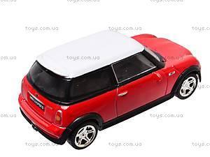 Коллекционная модель авто Mini Cooper, 6010, отзывы