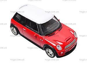 Коллекционная модель авто Mini Cooper, 6010, детские игрушки