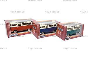 Коллекционная модель автомобиля Volkswagen Classical Bus, KT7005W