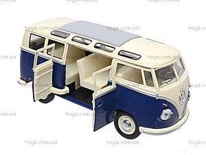 Коллекционная модель автомобиля Volkswagen Classical Bus, KT7005W, фото