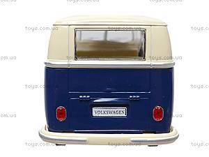 Коллекционная модель автомобиля Volkswagen Classical Bus, KT7005W, отзывы
