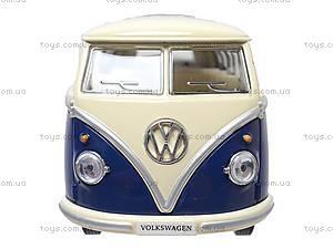 Коллекционная модель автомобиля Volkswagen Classical Bus, KT7005W, цена