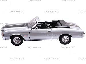 Коллекционная модель Chevrolet Chevelle, 22089 W, купить