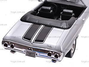 Коллекционная модель Chevrolet Chevelle, 22089 W, игрушки
