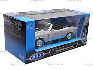 Коллекционная модель Chevrolet Chevelle, 22089 W, toys.com.ua