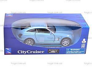 Коллекционная модель Chrysler Srossfire, 50283B, цена
