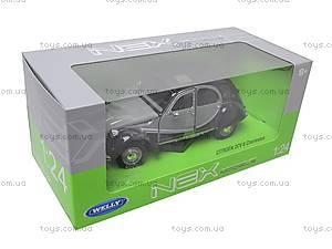 Коллекционная модель Citroen 2CV 6 Charleston, 24009W, игрушки