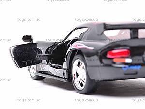 Коллекционная модель «Dodge Viper GT SR», KT5039WF, детские игрушки