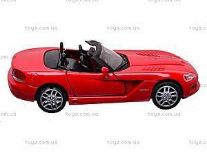 Коллекционная модель Dodge Viper SRT/10, 52393A, цена