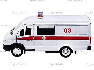 Коллекционная модель GAZ «Скорая помощь», 42387BAE-W, фото