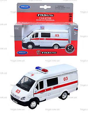 Коллекционная модель GAZ «Скорая помощь», 42387BAE-W