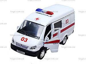 Коллекционная модель GAZ «Скорая помощь», 42387BAE-W, игрушки