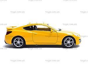 Коллекционная модель Hyundai Genesis Coupe, 44030CW, игрушки