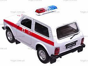 Коллекционная модель Lada «Скорая», 42386AE-W, фото