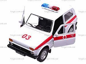 Коллекционная модель Lada «Скорая», 42386AE-W