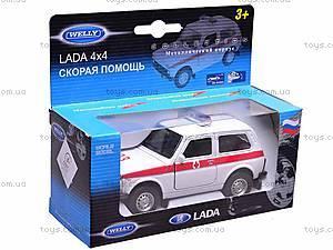 Коллекционная модель Lada «Скорая», 42386AE-W, отзывы