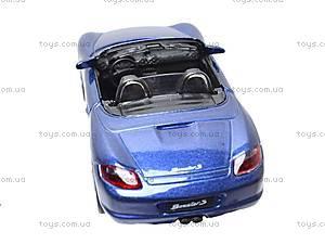 Коллекционная модель машины Porsche Boxster S, 49720G-6-11, игрушки