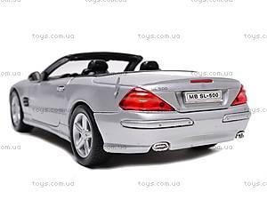 Коллекционная модель Mercedes Benz SL-500, 22437W, купить